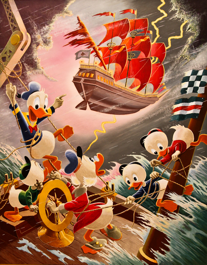 Afoul of the Flying Dutchman Carl Barks/Gil