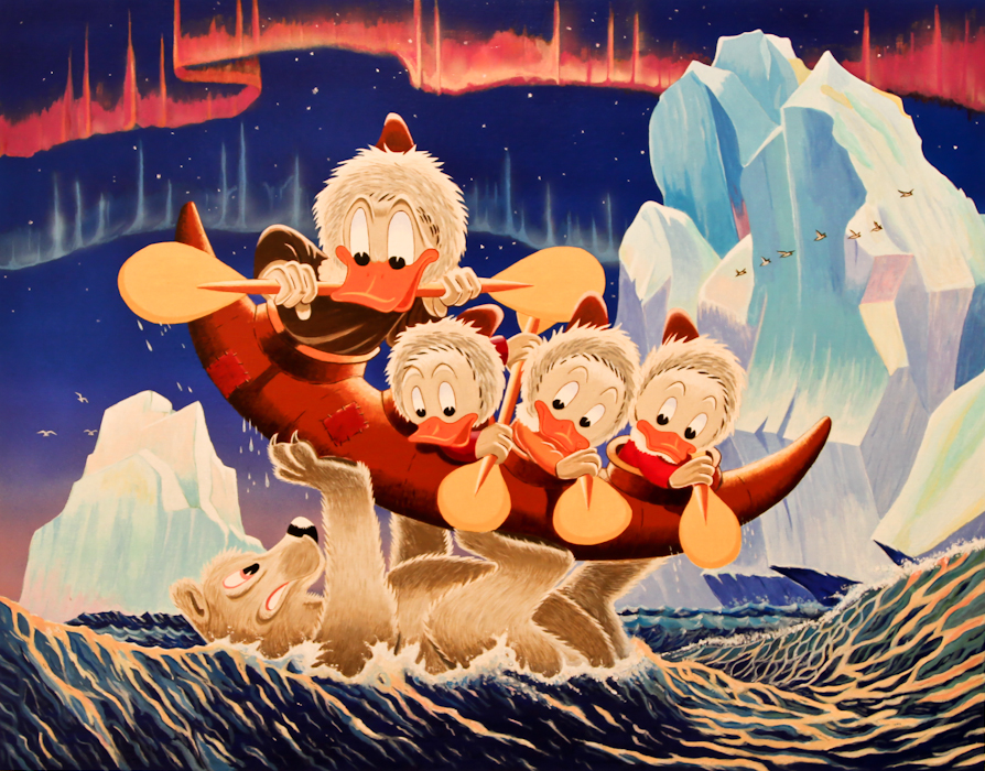 Luck of the North Carl Barks/Gil