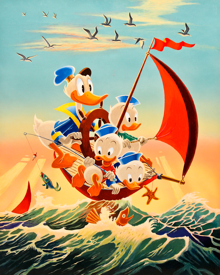 Red Sails in the Sunset Carl Barks/Gil