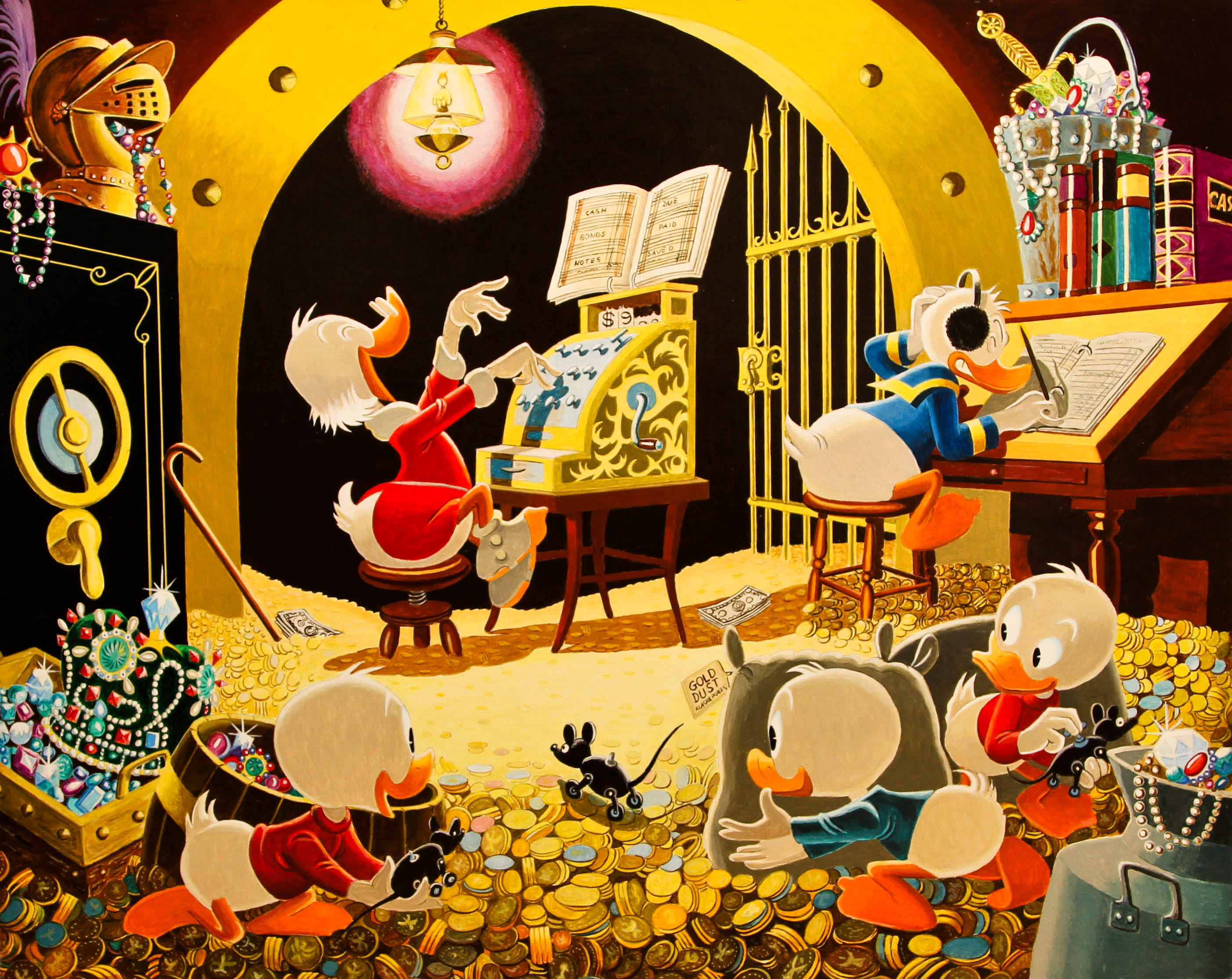 Spoiling the Concert Carl Barks/Gil