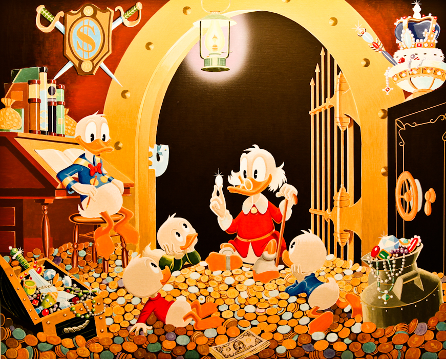 This Dollar Saved My Life at Whitehorse Carl Barks/Gil